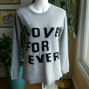 Catherine Malandrino cashmere sweater size Small